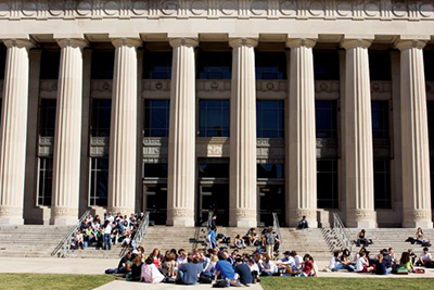 The outside of the University of Michigan College of Literature, Science, and the Arts, which was gifted $6.25 million by retired professor Ilene Forsyth. // Courtesy of the University of Michigan