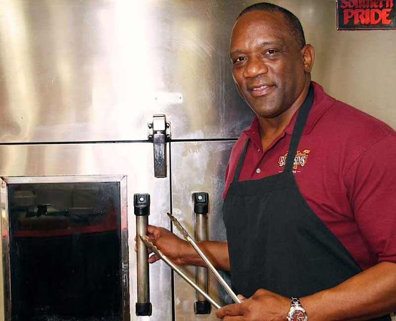 Former Detroit Lions running back Billy Sims is opening his second Billy Sims BBQ restaurant in Wisconsin. // Courtesy of Billy Sims BBQ