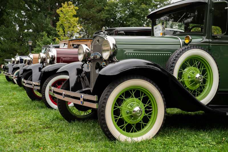 Events like the Old Car Festival, pictured, and Hallowe'en in Greenfield Village are returning to the Dearborn attraction this fall. // Courtesy of The Henry Ford