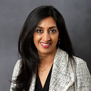 Dr. Arti Madhavan headshot