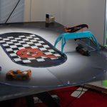 Automobili-D Race Track Exhibit