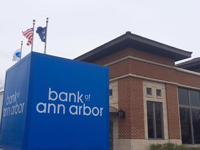 Bank of Ann Arbor has entered an agreement with Nicolet National Bank to purchase its branch at 260 E. Brown St. in Birmingham. // Courtesy of Bank of Ann Arbor