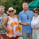 Don William, Evanne Dietz, Bob and Jennifer Zhang