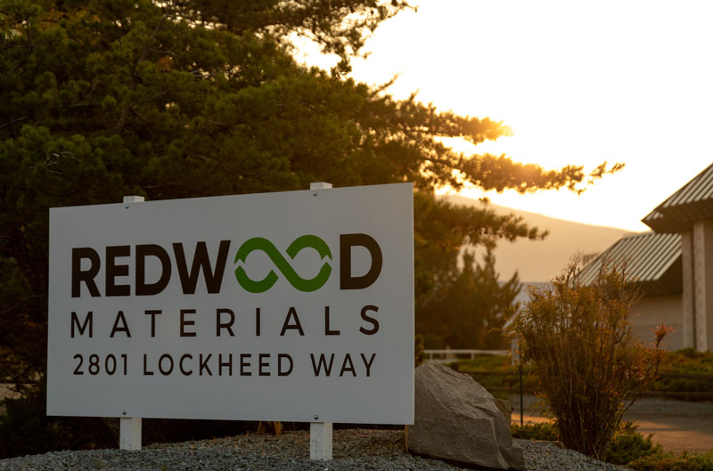 Ford Motor Co. and Redwood Materials are working together to build out battery recycling and a domestic battery supply chain for electric vehicles. // Courtesy of Ford Motor Co.