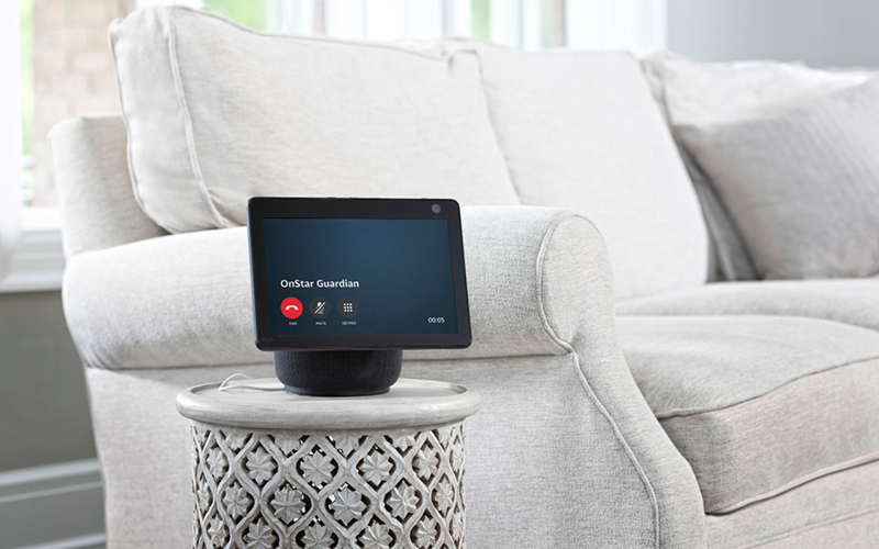 General Motors and Amazon today announced plans to introduce the OnStar Guardian skill to Alexa-enabled home devices. // Courtesy of General Motors