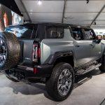 2024 GMC Hummer EV SUV Rear View
