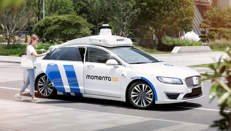 a momenta autonomous vehicle concept