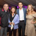 Geary Yee, Janet Frahm, David and Maria Vera