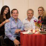 Julie Adelson, David Grossman, Noel and Lina Upfall
