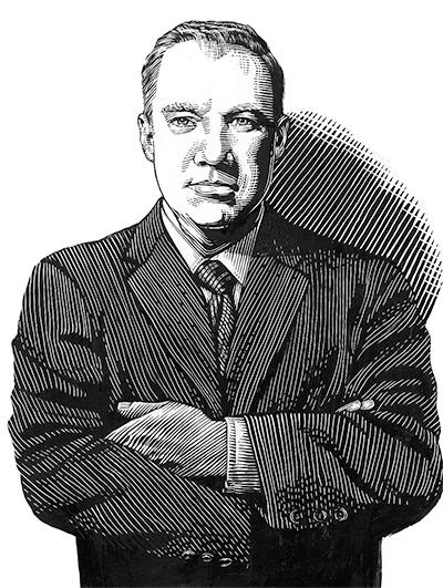 Illustration of RJ King
