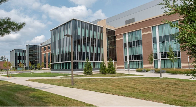 The new STEM Teaching and Learning Facility Michigan State University has opened. // Courtesy of MSU