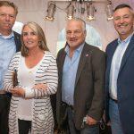 Mike and Jennifer Westfall, Bill Mattingly, Antharie Burke