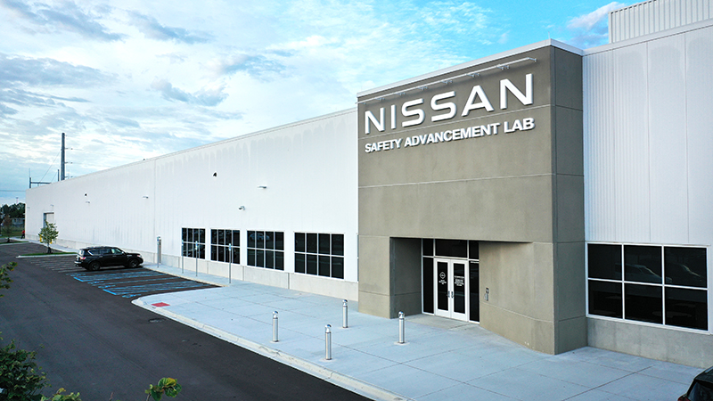 Nissan has expanded its engineering center in Farmington Hills with a new Safety Advancement Lab. // Courtesy of Nissan