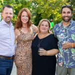 Patrick and Lauren Batcheller, Julie and Brian Mooney