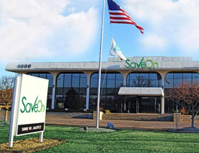 the SaveOn headquarters in Troy