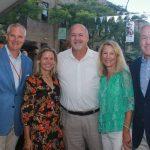 Tom and Lindsay Buhl, Bob Riney, Jenny and Joe Parke