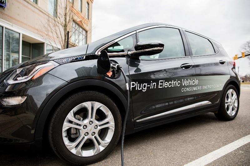 All Consumers Energy residential electric customers with EVs will be eligible for the Bring Your Own Charger program, no matter whether owners buy their own charger or receive it with their vehicle. // Courtesy of Consumers Energy