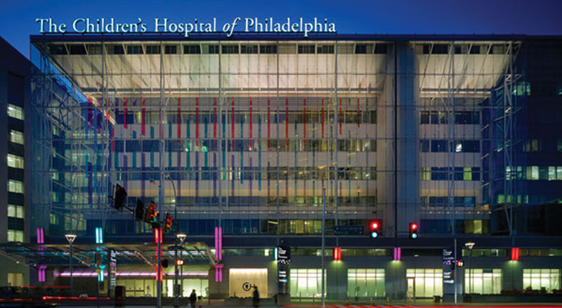Children's Hospital of Philadelphia is one the lead investigators of the NF1 study being funded by the Gilbert Family Foundation. // Courtesy of Children's Hospital of Philadelphia