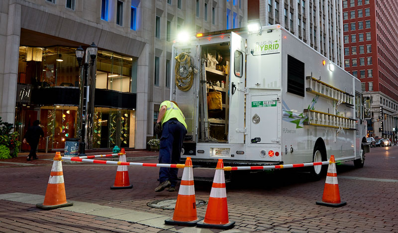 Utilimaster will showcase three utility vehicles at The Utility Expo this week in Louisville, Ky. // Courtesy of The Shyft Group