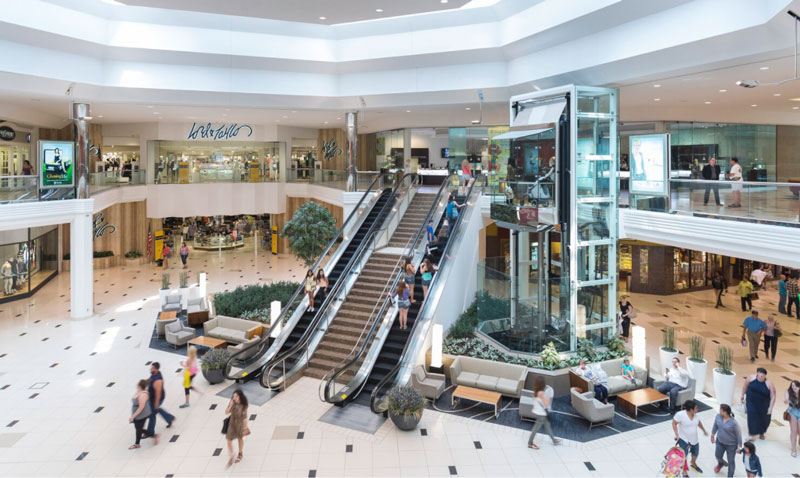 The Taubman Realty Group's corporate office and its 17 U.S. shopping centers, including Twelve Oaks Mall in Novi (pictured), have earned the WELL Health-Safety Rating. // Photo courtesy of Taubman