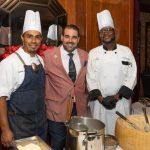 Chef Ernesto Antopiy, Antonio Giannola, Chef Carl Leatherberry