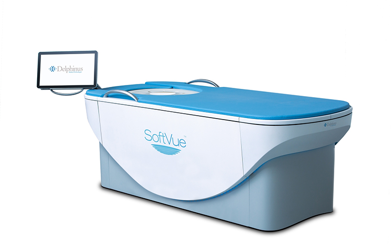 SoftVue 3-D Whole Breast Ultrasound Tomography System