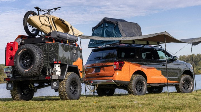 Ford Motor Co. in Dearborn debuted its Expedition Timberline Off-Grid concept vehicle. // Courtesy of Ford Motor Co.