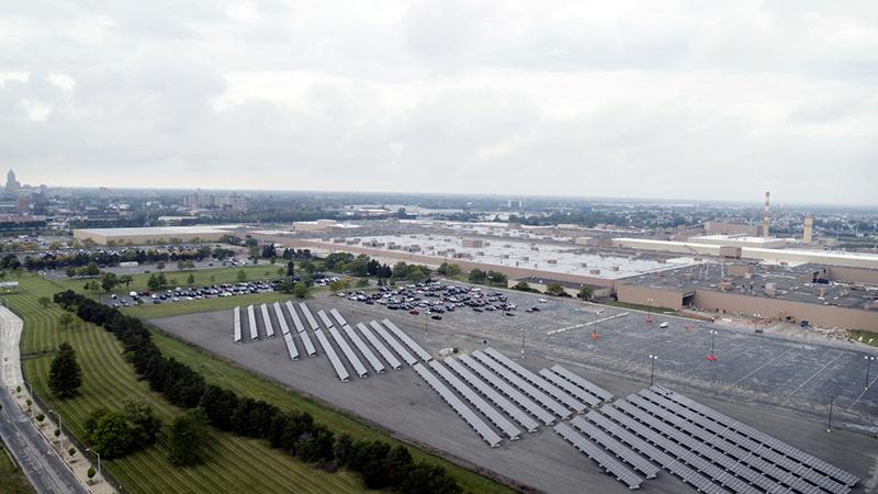 gm solar plant in hamtramck