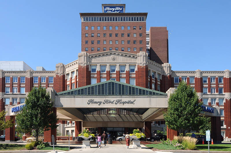 Henry Ford Hospital in Detroit will offer Hospital Care at Home for certain patients beginning in December. // Courtesy of Henry Ford Hospital