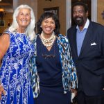 Janina Jacobs, Council President Brenda Jones, Rev. John Pitts