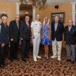 John McCandless, Jim Semerad, Rodney Volk, Jerry VandeVyver, Rear Admiral William Greene, Janian Jacobs, Mark Ernst, John Peracchio, Chris Shipe