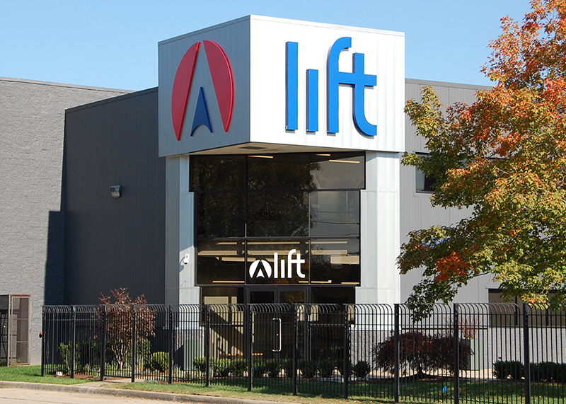 the front of LIFT Manufacturing Institute in Detroit
