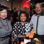 Mayor Deidre Waterman, Dr. Linda Higginbotham-Rogers, Breland Rogers