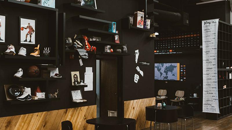Pensole Footwear Design Academy studio in Portland