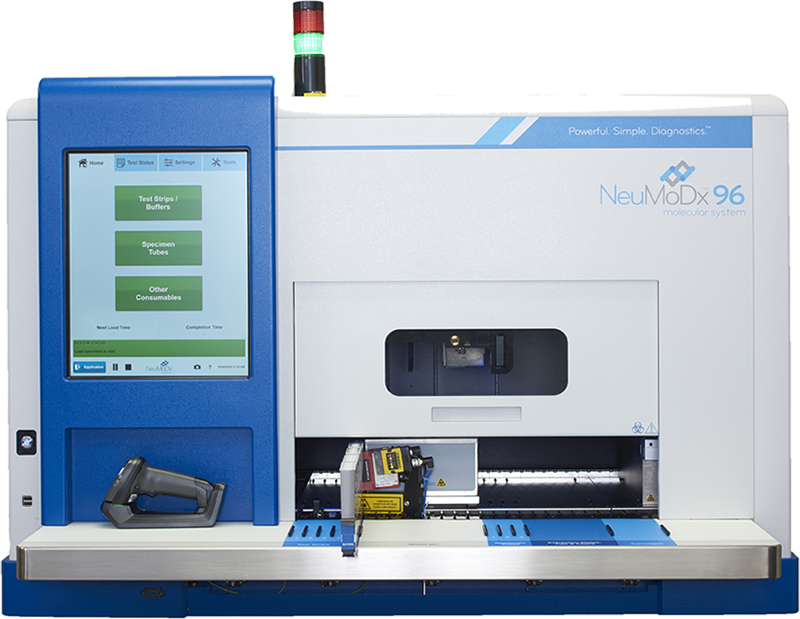 Qiagen announced it has received a $3.4 million grant to increase production capacity for consumables used on it NeuMoDx 96 and 288 systems. // Courtesy of NeuMoDx