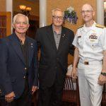 Jim Semerad, Rodney Volk, Rear Admiral William Greene