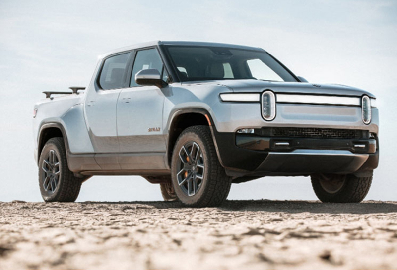 a rivian electric vehicle